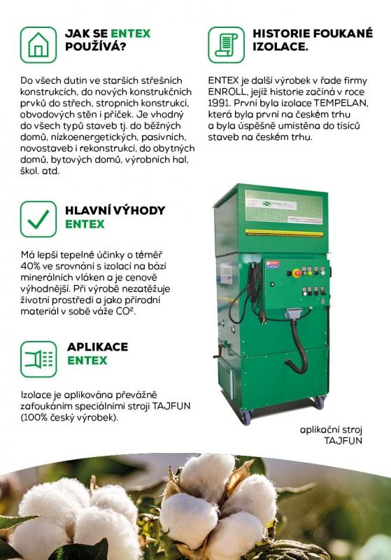 ENTEX ekologická izolace