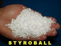 Zásypová nebo foukaná tepelná izolace STYROBALL