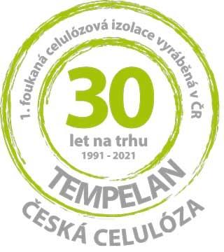 TEMPELAN - ČESKÁ CELULÓZA Foukaná ekologická celulózová tepelná a akustická izolace