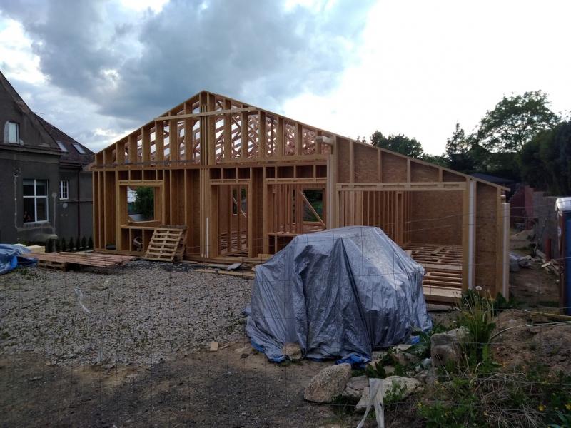 Výstavba domu v Liberci