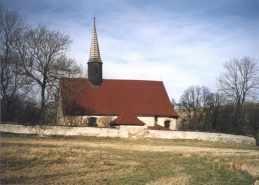 Kostel Sv.Martina v Dolní Oldříši.